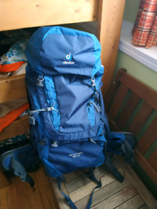 Backpack hiking/traveling DEUTER - as new
