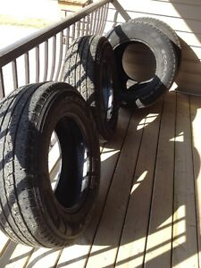 Used suv or truck tires ( no Rims)