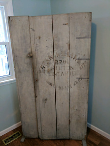 Antique vintage cupboard