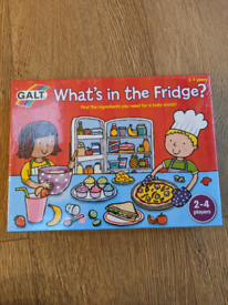 GALT What's In The Fridge board game (brand new, sealed)
