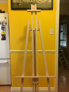 """Large Wooden Easel 70"""" tall"""