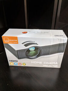Time to Enjoy Home Cinema HDMI LED Projector