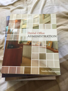 (SLIGHTLY USED) Dental Office Administration Book - INCLUDES CD