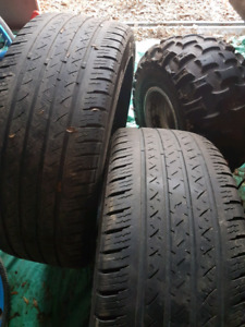 2 245 45 r 20 tires about 60 percent tread