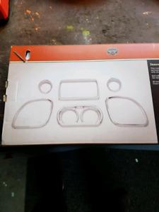 Harley Davidson chrome inner fairing trim kit for road glides