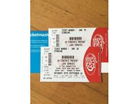x2 tickets - The Amorettes & Love Zombies