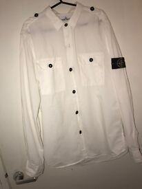 Men's Stone Island Shirt/ Over Shirt Size L WORN ONCE.