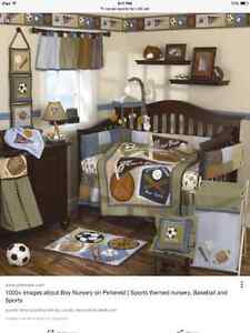 """CoCaLo """"Sports Fan"""" Nursery Collection"""