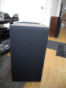 WHARFEDALE S33 VINTAGE PAIR OF 3 WAY SPEAKERS ENGLAND EXC.