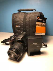 Nikon D3400 Lightly used, Case included.