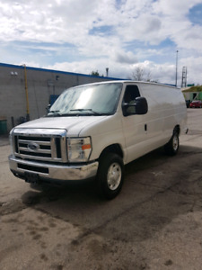 2012 Ford E250 certified for  $8500