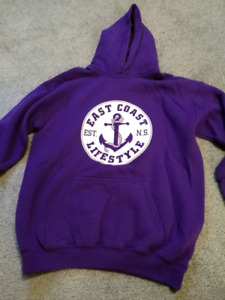 East coast Lifestyle hoodie - youth large