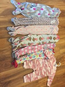 6 to 12 month baby girl lot.