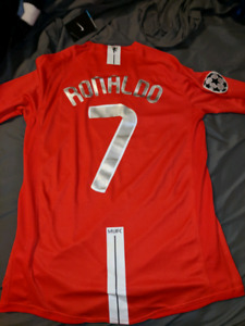 Long sleeve medium Ronaldo jersey with tags