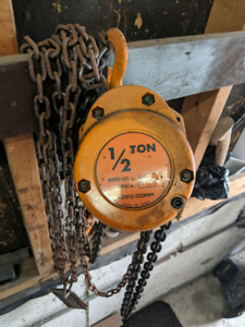 1/2 ton chain hoist Kito Corp made in Japan