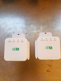 2x wifi range extender