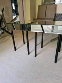 Made 2xmirror bedside...furniture display great condition...rrp179