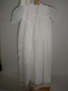Christening Gown, Cape and Bonnet