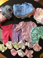 Lot de 33 morceaux pour fille 0-3 mois et 3-6 mois