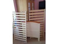 Cot bed small kids bed