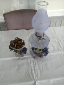 Lampe à huile déco vintage