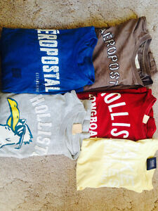 HOLLISTER & AEROPOSTLE T-SHIRTS FOR SALe