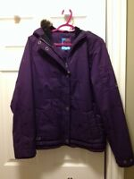 Women's Orb Purple Bomber Snowboard Jacket Sz Medium
