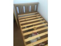 Quality solid wood single bed frame