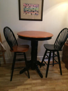 Bar stool solid wood chair, stool , table