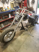Build your own Harley chopper