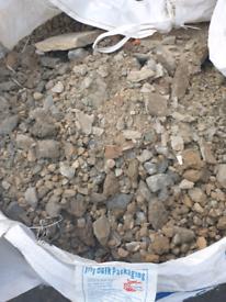 FREE 1 Ton bag Garden gravel/rubble.