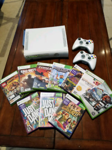 Xbox 360 with extras (see below)