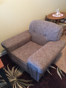 Antique overstuffed chairs (two @ $120. each)