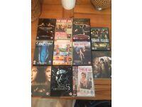 DVD's 11 Joblot mixed genres