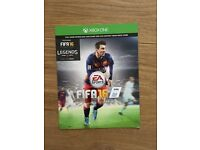 Xbox one FIFA 16 full game download unused