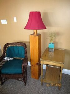 RUSTIC Beam Floor Lamp