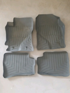 Weather teck  floor mats