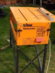 TRITON MK3 WORKCENTRE AND EXTENSION TABLE