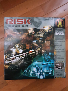 Risk 2110 board game 100% complete