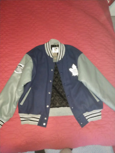 Brand new Centennial Classic Maple Leaf Varsity Jacket Edition