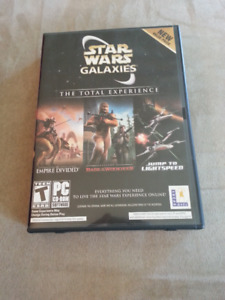 Star Wars Galaxies - The Total Experience (2005) PC CD-ROM
