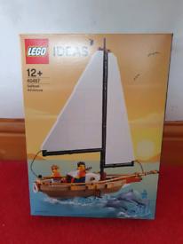 Lego Ideas Sailboat Adventure (set 40487) brand new in sealed box