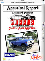 Great truck appraised at $29200