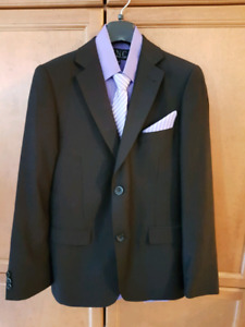 Boys 2pc black suit