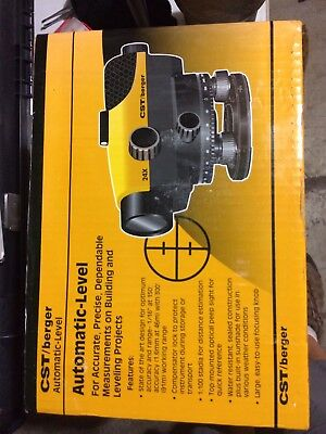 New CST/Berger PAL Series 24X Automatic Level 55-PAL24D