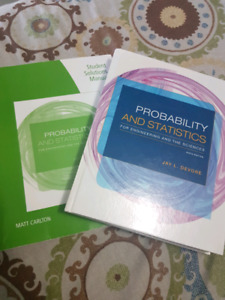 Probability & Statistics for Engineering & Sciences
