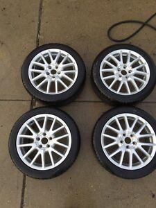 """17"""" Volkswagen OEM rims w/tires"""