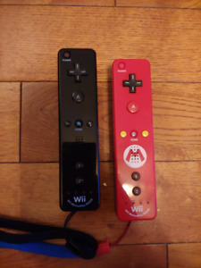 Wii motion plus wii remotes