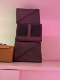 Shoe storage box's