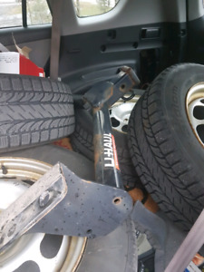 Trailer hitch and harness 4way
